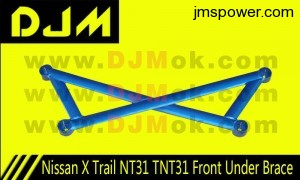 DJM Nissan X Trail NT31 TNT31 Front Under Brace