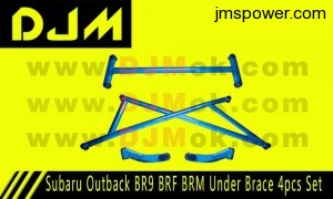 DJM Subaru Outback BR9 BRF BRM Under Brace 4pcs Set
