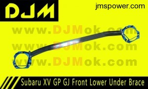 DJM Subaru XV GP GJ Front Lower Under Brace