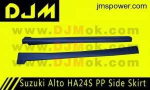DJM Suzuki Alto HA24S PP Side Skirt