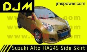 DJM Suzuki Alto HA24S Side Skirt