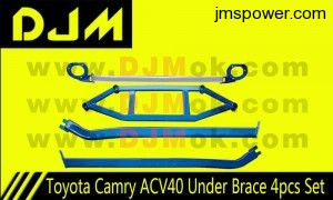 DJM Toyota Camry ACV40 Under Brace 4pcs Set