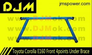 DJM Toyota Corolla E160 Front 4points Under Brace