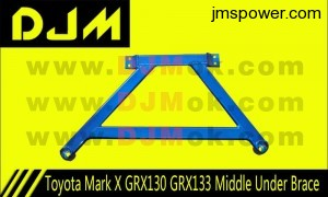 DJM Toyota Mark X GRX130 GRX133 Middle Under Brace