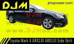 DJM Toyota Mark X GRX130 GRX133 Side Skirt