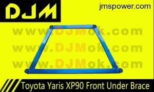 DJM Toyota Yaris XP90 Front Under Brace