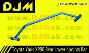 DJM Toyota Yaris XP90 Rear Lower 4points Bar