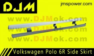 DJM Volkswagen Polo 6R Side Skirt