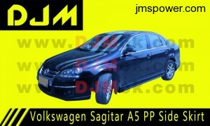 DJM Volkswagen Sagitar A5 PP Side Skirt