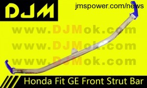 DJM Honda Fit GE Front Strut Bar