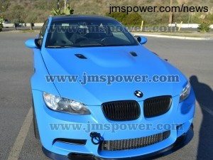 DJM Light Blue Vinyl Wrap Car Sticker Vehicle Body Wrap