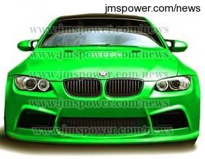 DJM Matte Light Green Car Vinyl Wrap Sticker