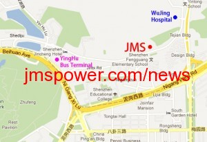 JMS Power Office Map