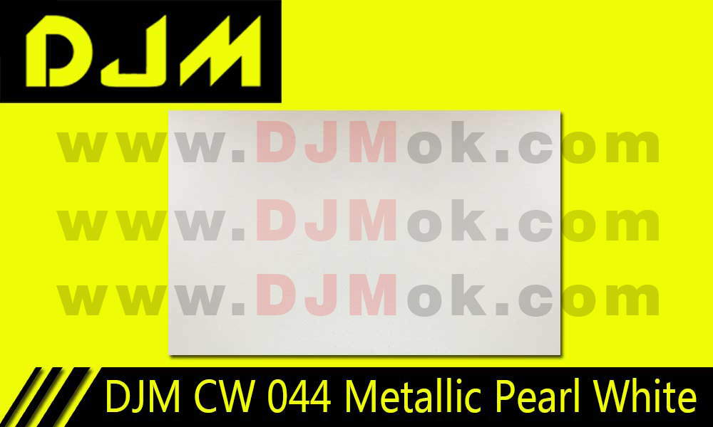 DJM CW 044 Metallic Pearl White
